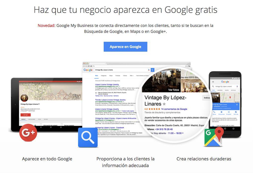 Anunciarse en Google Maps