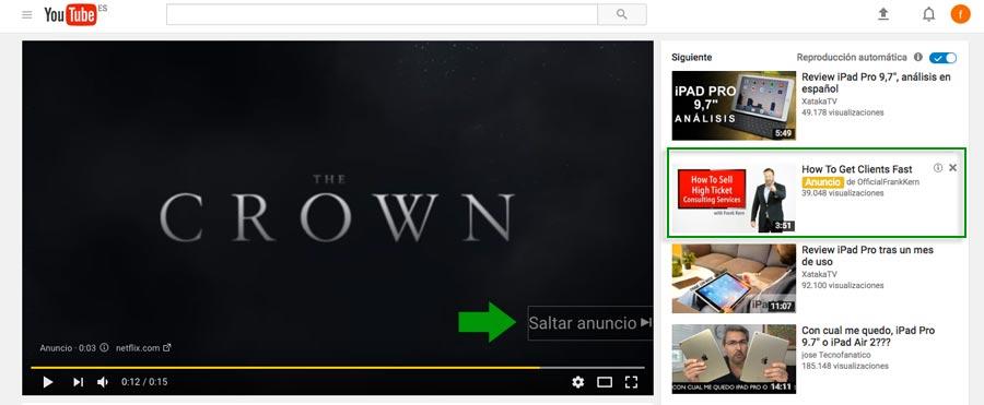 Anuncios Videos In Stream