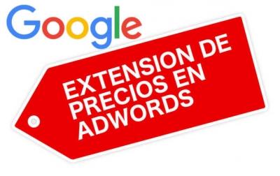 extensiones de precios en adwords