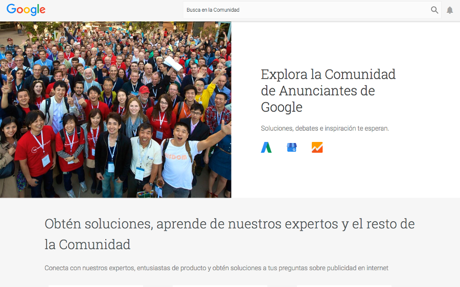 comunidad de google adwords