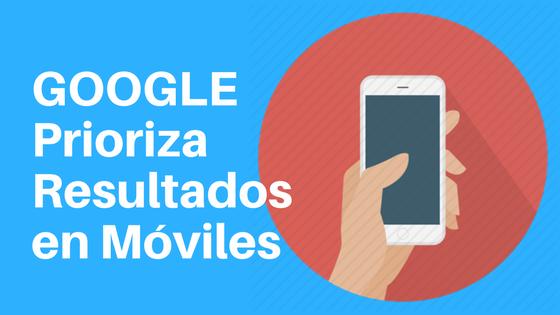 Google divide su índice para dar prioridad a móviles