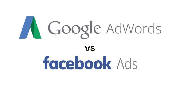 Google AdWords contra Facebook Ads