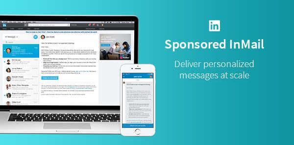 anuncios linkedin inmail