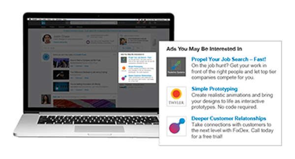 anuncios de texto linkedin