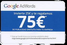 cupon anuncios google clics gratis