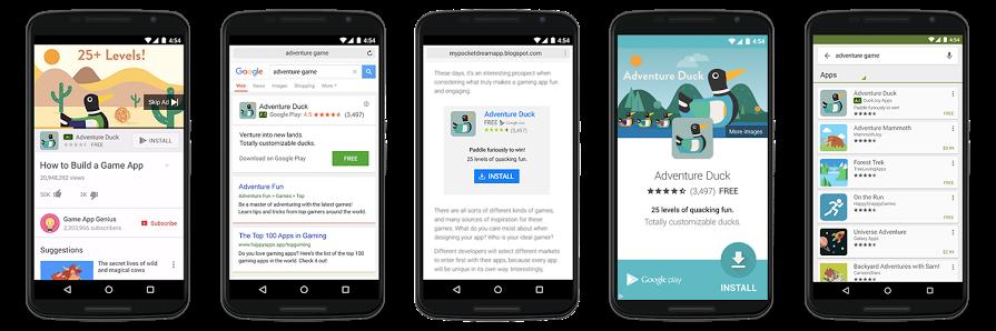 campaña universal de apps en google adwords