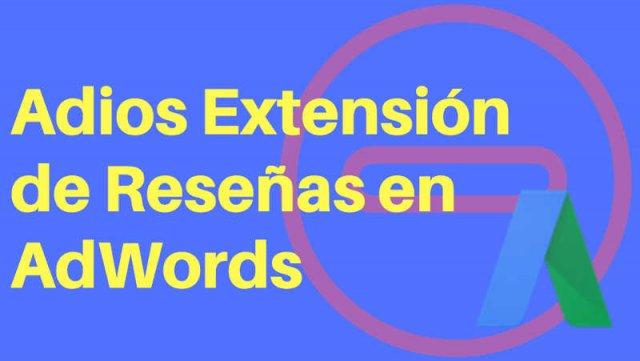 extensiones de reseñas google adwords
